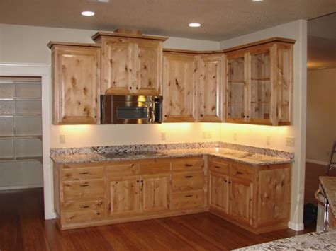 knotty alder cabinets  ebony stain loccie