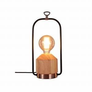 Lampe Industrielle A Poser : lampe a poser industrielle vintage ~ Teatrodelosmanantiales.com Idées de Décoration