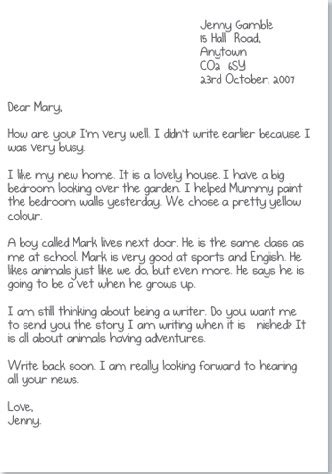 informal letters english  fun