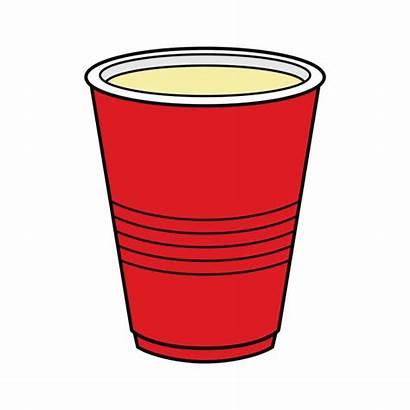 Cup Plastic Clip Vector Cartoon Drink Illustration