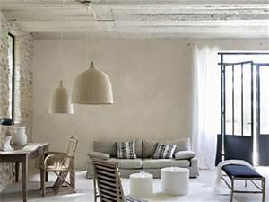 Maison Deco Com : peinture a effet cire naturelle dans salon maison deco ~ Zukunftsfamilie.com Idées de Décoration