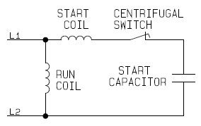 Single Phase Capacitor Start Run Electric