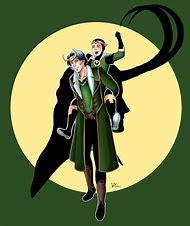 Kid Loki and Thor deviantART