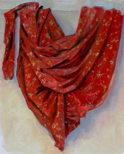 drape cloth drapery folds loosen up