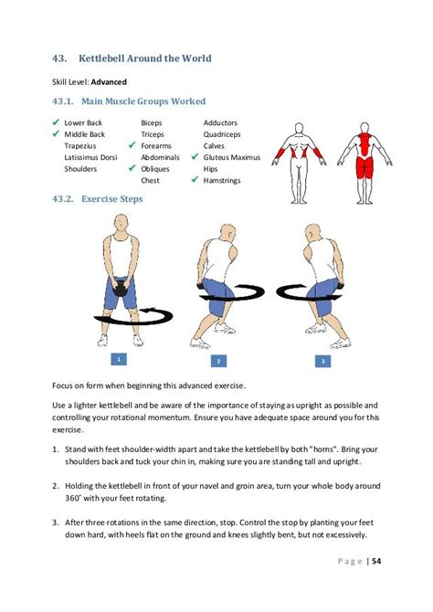 kettlebell around worked muscle groups lower exercises workout middle main advanced dumbbell skill level bicep kettlebells kettle bell workouts dorsi