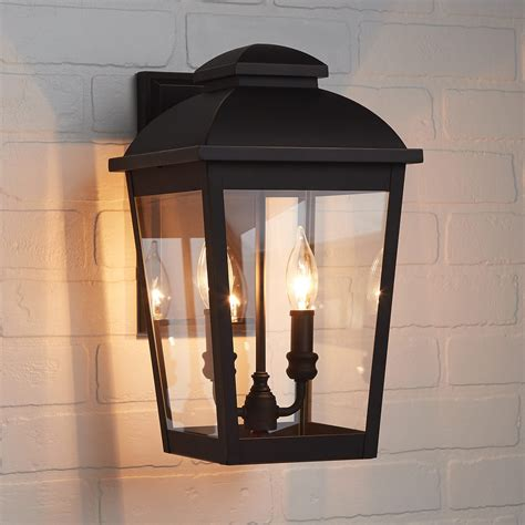 goodwin 2 light outdoor entrance wall sconce rubbed bronze outdoor lighting lighting