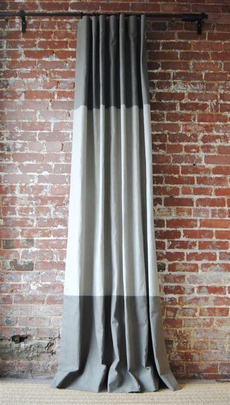 best 25 color block curtains ideas on blue