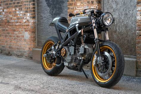 The Simple Beauty Of The Custom-built 'café Racer