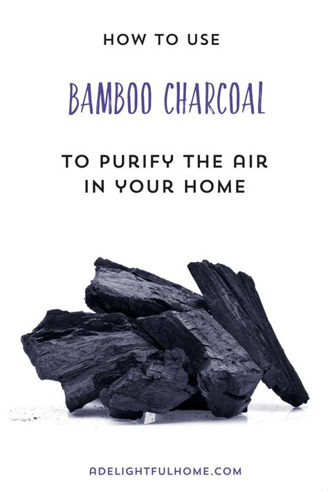 how to use charcoal using bamboo charcoal to purify indoor air a delightful home