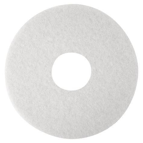 floor buffer pads home depot 3m 12 in niagara 4100n floor polishing pads 5 per box