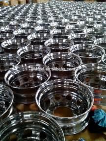 chrome plated steel wheels