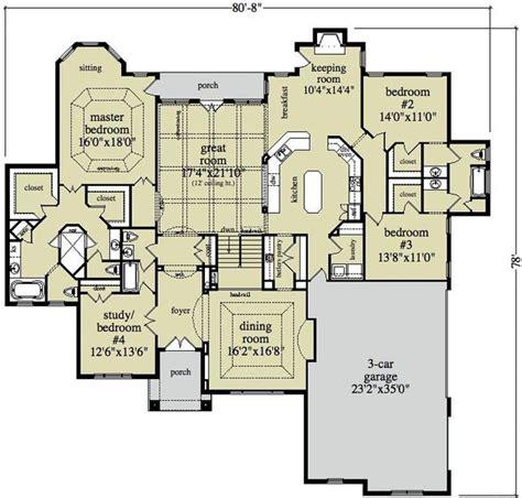large floor plans large ranch home plans smalltowndjs
