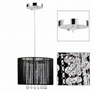Gracelove modern black brushed crystal chandeliers with