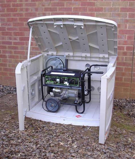 outdoor portable generator shed gs7500 shed