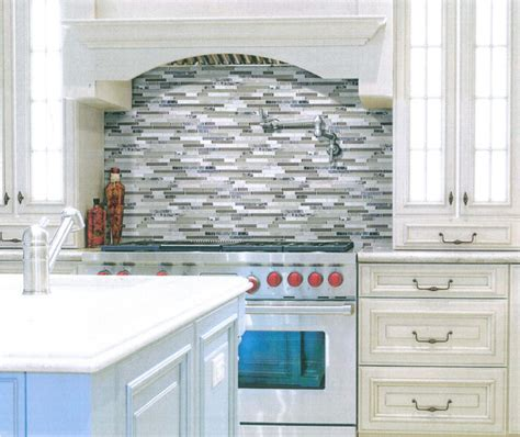 stocked products in traditional kitchen