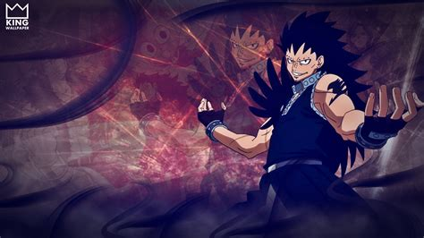 gajeel wallpaper atfairy tail  kingwallpaper  deviantart