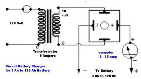 Circuits How Make Car Battery Charger Next
