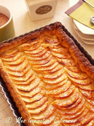 recette tarte aux pommes pate feuillete tarte aux pommes 224 la p 226 te feuillet 233 e le cuisine de samar