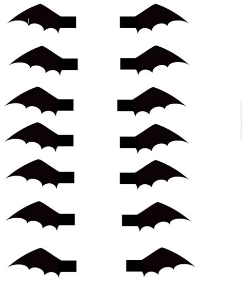 bat wing template bat cupcakes thehalloweenproject big s