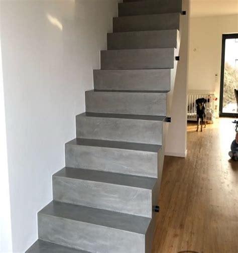 Treppe In Betonoptik by Fugenlose W 228 Nde B 246 Den B 228 Der Und Treppen