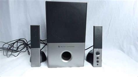 altec lansing    speaker system youtube