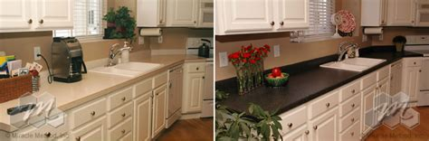 refinishing a countertop kitchen countertop refinishing kits reviews wow