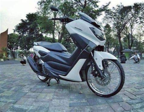 Nmax Keren by Kumpulan Gambar Modifikasi Yamaha Nmax Terbaru Keren