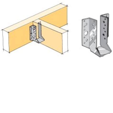 deck joist hangers nz lumberlok joist hanger 47x120mm stainless steel bunnings