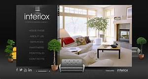 Interiox Interior Design Agency HTML5 Template On Behance