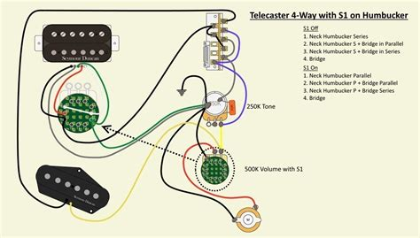 wiring a 4 way switch with an s1 telecaster guitar forum