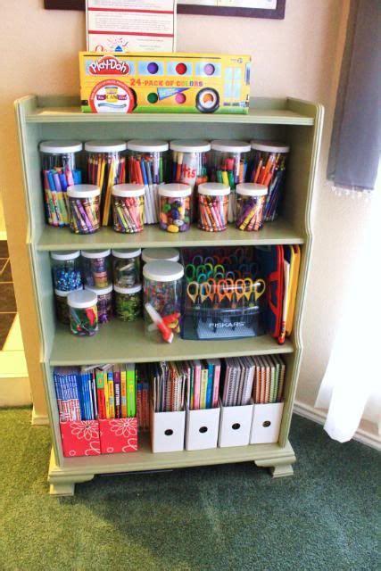 Ideen Organisation Kinderzimmer by Organizing Idea For Craft Supplies Kinderzimmer Ordnung