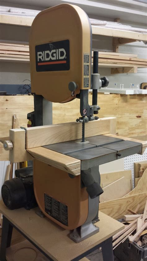 diy bandsaw fence monoloco workshop