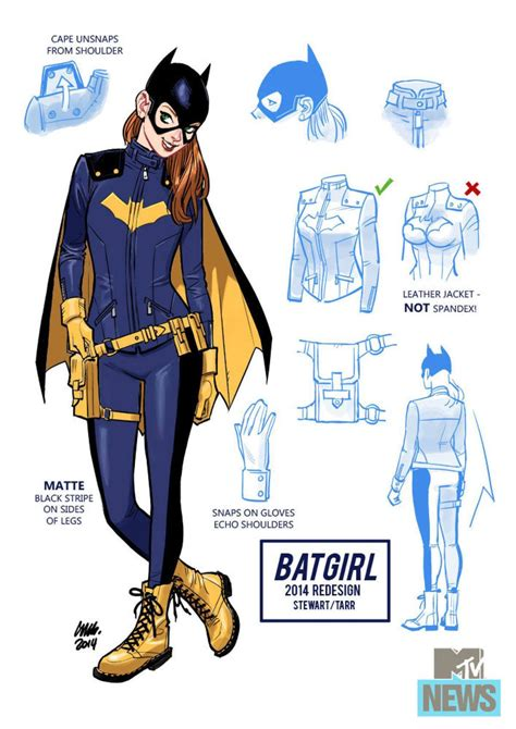 Funny Bathroom Pass Ideas by I Like The New Batgirl Redesign Geek