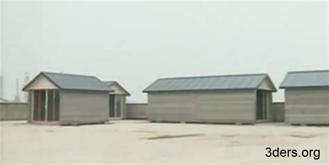 3ders org 10 completely 3d printed houses appears in shanghai built a day 3d printer