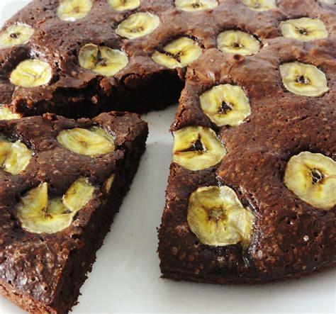 fourneaux cuisine gâteau fondant chocolat banane aux fourneaux