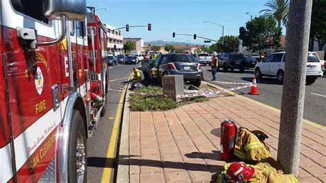 traffic accident  power outage  san clemente