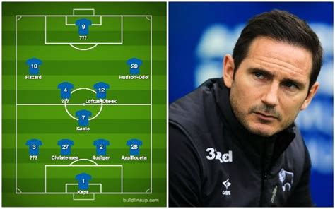 What Lampard's Chelsea XI after £120m spree would look like