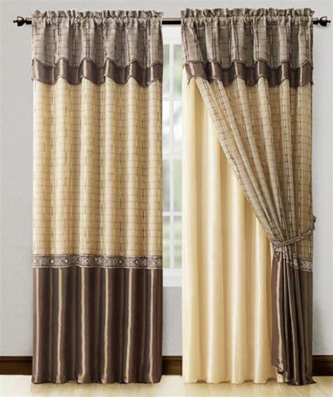 double rideau rideaux et voilages