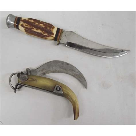 Vintage Hunting Knives Sex Nurse Local