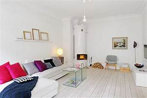 Stylish Two-Room Apartment Displaying an Immaculate Design ...
