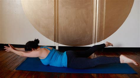 minute core strength yoga sequence  real people
