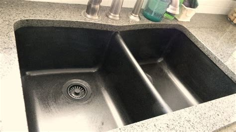 forever decorating how to easily clean a granite sink