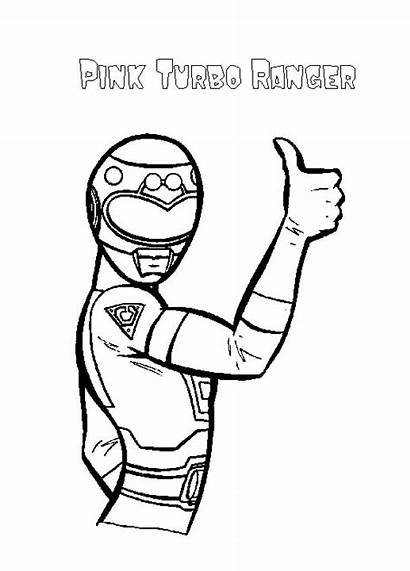 Power Coloring Pages Rangers Printable Ranger