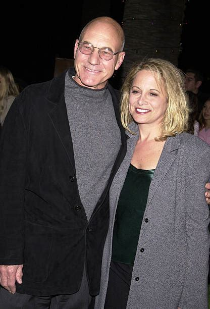 patrick stewart wife photo actor patrick stewart with his wife wendy neuss pictures