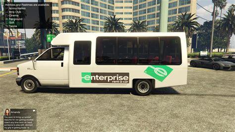 Enterprise Rent-a-car Bus