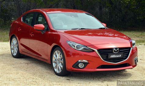 mazda australia prices cbu mazda 3 sedan estimated specs price unveiled