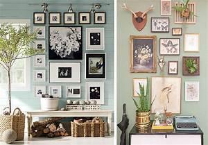 Cadre Pour Plusieurs Photos : la fabrique d co astuces pour bien accrocher vos tableaux et vos cadres au mur ~ Teatrodelosmanantiales.com Idées de Décoration