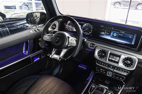 If you are going to get a g wagon it had better be a brabus! Mercedes-AMG G63 2020 - Mansory Ukraine