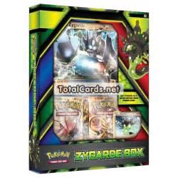 pokemon zygarde ex box