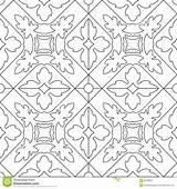 Volwassenen Naadloos Kleurende Vierkante Colorists sketch template